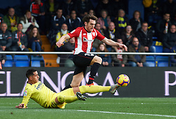 January 20, 2019 - Villarreal, Castellon, Spain - Ramiro Funes Mori of Villarreal and Ibai Gomez of Athletic Club de Bilbao during the La Liga Santander match between Villarreal and Athletic Club de Bilbao at La Ceramica Stadium on Jenuary 20, 2019 in Vila-real, Spain. (Credit Image: © Maria Jose Segovia/NurPhoto via ZUMA Press)