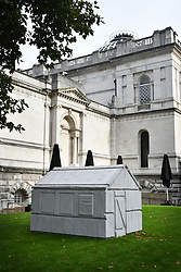 September 11, 2017 - London, London, United Kingdom - Image ©Licensed to i-Images Picture Agency. 11/09/2017. London, United Kingdom. Rachel Whiteread at Tate Britain. Rachel Whiteread. Chicken Shed 2017. Tate Britain opens major new exhibition of renowned contemporary artist Rachel Whiteread, the most substantial survey to date of work by renowned contemporary artist, London.  Picture by Nils Jorgensen / i-Images (Credit Image: © Nils Jorgensen/i-Images via ZUMA Press)