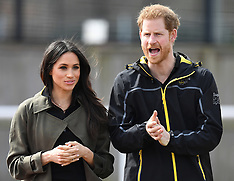 Prince Harry and Meghan Markle attend the Invictus team trials - 6 April 2018