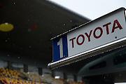 29th October - 1st November 2015. World Endurance Championship. 6 Hours of Shanghai.  Shanghai International Circuit, China. Toyota pit detail