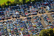 Nederland, Zeeland, Schouwen-Duiveland, 23-10-2013; Oosterland, autosloperij (autodemontage).<br /> Car scrap yard;<br /> luchtfoto (toeslag op standaard tarieven);<br /> aerial photo (additional fee required);<br /> copyright foto/photo Siebe Swart.