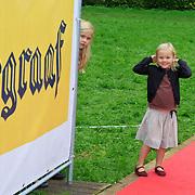 NLD/Amstelveen/20110921 - Premiere Fantasia de Musical, Prinses Maxima en kinderen Catharina-Amalia, Ariane
