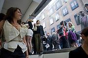 TRACEY EMIN, Tracey Emin opening. White Cube. Mason's Yard. London. 28 May 2009.
