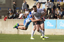 May 20, 2017 - Toronto, Ontario, Canada - BOB BESWICK (9) in action during the Rugby League game between  game between Toronto Wolfpack and Barrow Raiders (Credit Image: © Angel Marchini via ZUMA Wire)