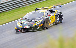 10.06.2017, Red Bull Ring, Spielberg, AUT, ADAC GT Masters, Spielberg, 1. Rennen, im Bild Florian Spengler (GER)/Christopher Zanella (SUI) HB Racing // German ADAC GT Masters driver Florian Spengler/Swiss ADAC GT Masters driver Christopher Zanella of HB Racing during the 1st race of the ADAC GT Masters at the Red Bull Ring in Spielberg, Austria on 2017/06/10. EXPA Pictures © 2017, PhotoCredit: EXPA/ Dominik Angerer