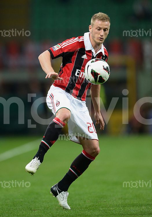 FUSSBALL INTERNATIONAL   SERIE A   SAISON 2012/2013    AC Mailand - Atalanta  15.09.2012 Ignazio Abate (AC Mailand)