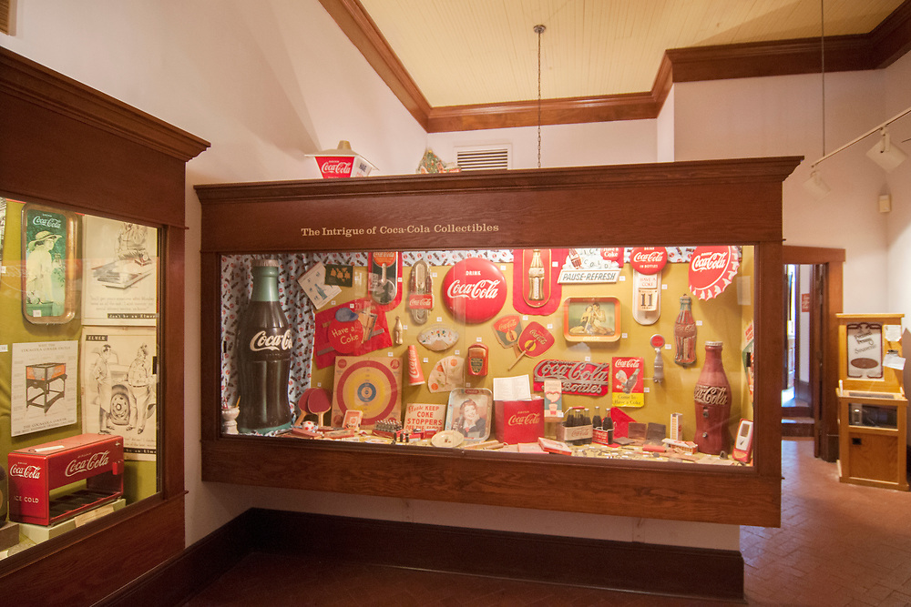 The Biedenharn Coca-Cola Museum in Vicksburg, Mississippi on Monday, May 21, 2018. Copyright 2018 Jason Barnette