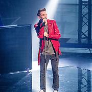 NLD/Hilversum//20170218 - Finale The Voice of Holland 2017, Thijs Pot