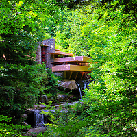 """""""Shadows of Brilliance""""<br /> <br /> Beautiful Fallingwater in the Laurel Highlands of Pennsylvania!!<br /> <br /> Architecture: Structures and buildings by Rachel Cohen"""