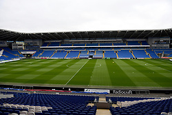 A general view of the ground ahead of the Premier League match at the Cardiff City Stadium, Cardiff.