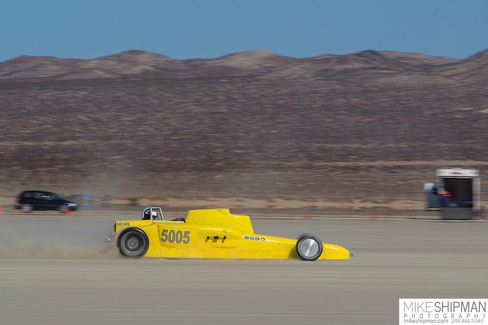 Empire Special, 5005, eng B, body BGMR, driver Joel Wirth, 195.506 mph, record 231.803