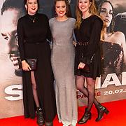 NLD/Amsterdam/20200217-Suriname filmpremiere, Robin Martens en vriendinnen ...........