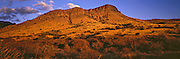 Sunrise on the Whetstone Mountains of southern Arizona