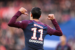 February 17, 2018 - Paris, France - 11 ANGEL DI MARIA (psg) - JOIE - MAILLOT HOMMAGE A LA CHINE - NOUVEL AN CHINOIS (Credit Image: © Panoramic via ZUMA Press)
