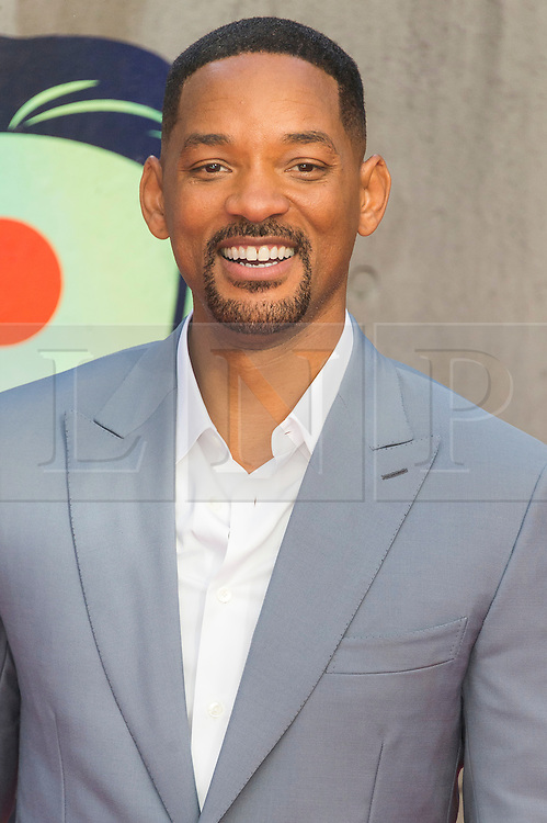 © Licensed to London News Pictures. 03/08/2016.  WILL SMITH attends the Suicide Squad UK Film Premiere  London, UK. Photo credit: Ray Tang/LNP