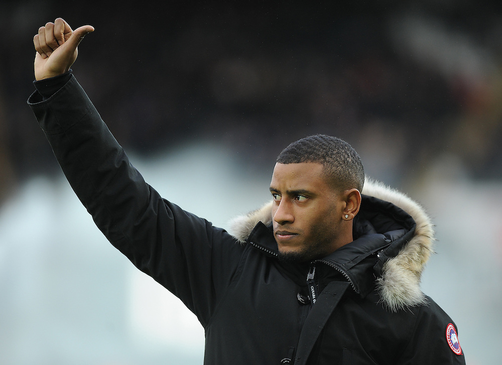 Swansea City's new signing Luciano Narsingh is unveiled before the game<br /> <br /> Photographer /Ashley Crowden CameraSport<br /> <br /> The Premier League - Swansea City v Arsenal  - Saturday 14th January 2017 - Liberty Stadium - Swansea <br /> <br /> World Copyright © 2017 CameraSport. All rights reserved. 43 Linden Ave. Countesthorpe. Leicester. England. LE8 5PG - Tel: +44 (0) 116 277 4147 - admin@camerasport.com - www.camerasport.com