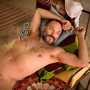 Intimate portraits of men and male bodies