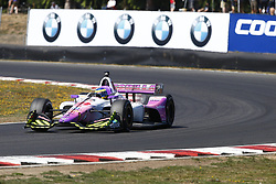 September 2, 2018 - Portland, Oregon, United Stated - SEBASTIEN BOURDAIS (18) of France battles for position during the Portland International Raceway at Portland International Raceway in Portland, Oregon. (Credit Image: © Justin R. Noe Asp Inc/ASP via ZUMA Wire)