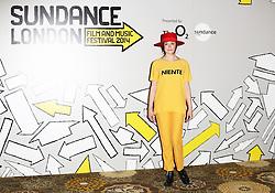 © Licensed to London News Pictures. 24/04/2014, UK. Rose McGowan, Sundance London Film & Music Festival - Filmmakers Photo-Call, The Langham Hotel, London UK, 24 April 2014. Photo credit : Richard Goldschmidt/Piqtured/LNP
