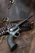 Colt Single Action Army with Shell Belt