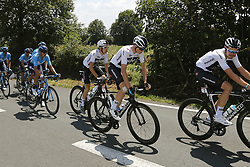 July 8, 2018 - La Roche-Sur-Yon, France - FROOME Chris (GBR) of Team SKY during stage 2 of the 105th edition of the 2018 Tour de France cycling race, a stage of 182.5 kms between Mouilleron - Saint-Germain and La Roche-Sur-Yon on July 08, 2018 in La Roche-Sur-Yon, France, 8/07/18 (Credit Image: © Panoramic via ZUMA Press)