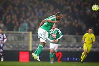 Kevin Theophile Catherine - 28.02.2015 - Toulouse / Saint Etienne - 27eme journee de Ligue 1 -<br />Photo : Manuel Blondeau / Icon Sport