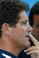 Milano 27/7/2004 Trofeo Tim - Tim tournament <br /> <br /> <br /> <br /> Fabio Capello, Juventus trainer<br /> <br /> Fabio Capello allenatore della Juventus<br /> <br /> <br /> <br /> Inter Milan Juventus <br /> <br /> Inter - Juventus 1-0<br /> <br /> Milan - Juventus 2-0<br /> <br /> Inter - Milan 5-4 d.cr - penalt.<br /> <br /> <br /> <br /> Photo Andrea Staccioli Graffiti