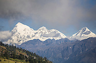 Chomolhari (23,997') as viewed from Chele La, Bhutan