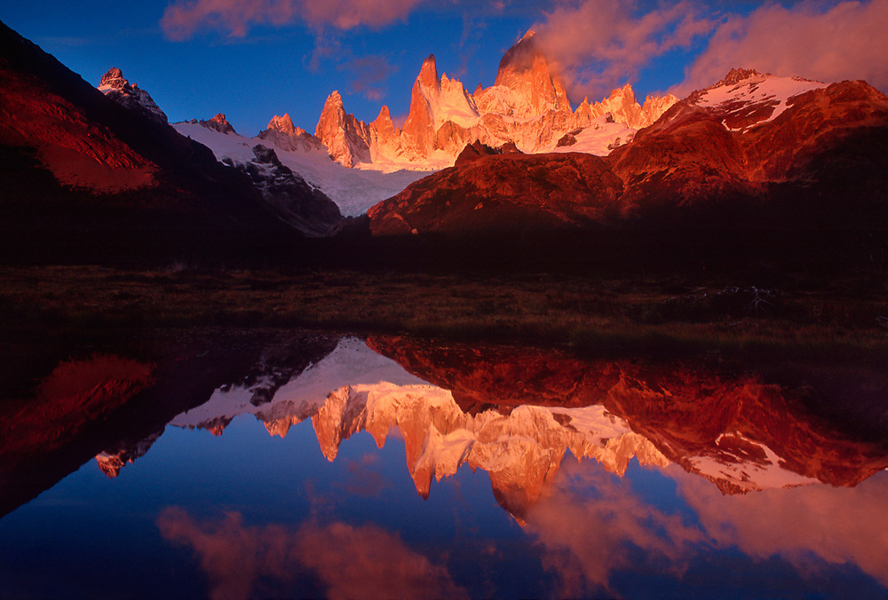 Cerro Fitzroy, morning light, Las Glaciares National Park, Argentina