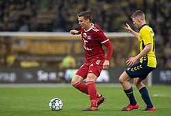 Kasper Enghardt (Lyngby BK) under kampen i 3F Superligaen mellem Brøndby IF og Lyngby Boldklub den 1. marts 2020 på Brøndby Stadion (Foto: Claus Birch).