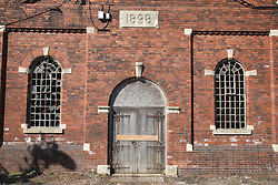 Disused building at Grimsby docks