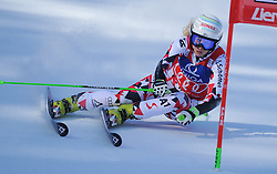 28.12.2015, Hochstein, Lienz, AUT, FIS Weltcup Ski Alpin, Lienz, Riesenslalom, Damen, 1. Durchgang, im Bild Eva-Maria Brem (AUT) // Eva-Maria Brem of Austria during 1st run of ladies Giant Slalom of the Lienz FIS Ski Alpine World Cup at the Hochstein in Lienz, Austria on 2015/12/28. EXPA Pictures © 2015, PhotoCredit: EXPA/ Erich Spiess