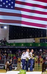 Mandy Mccutcheon, Shawn Flarida, Andrea Fappani - Individual Final Comptetition - Alltech FEI World Equestrian Games™ 2014 - Normandy, France.<br /> © Hippo Foto Team - Leanjo De Koster<br /> 30-08-14