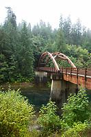 North Umpqua River. Cascade Mountains, Oregon.