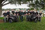 Martin County Florida Sheriff and Deputies pose for a portrait at Sandsprit Park in Stuart FL