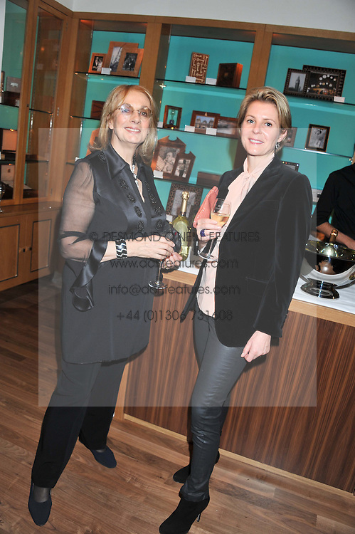 A dinner hosted by Ruinart Champagne in honour of David Linley was held at Linley, 60 Pimlico Road, London SW1 on 8th December 2011.<br /> NINA CAMPBEL and SERENA LINLEY