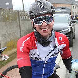 01-03-2020: Wielrennen: Hageland vrouwen: Tielt-Winge: Lorena Wiebes