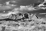 Image of Mt. Ellsworth taken from near Ticaboo, Utah.