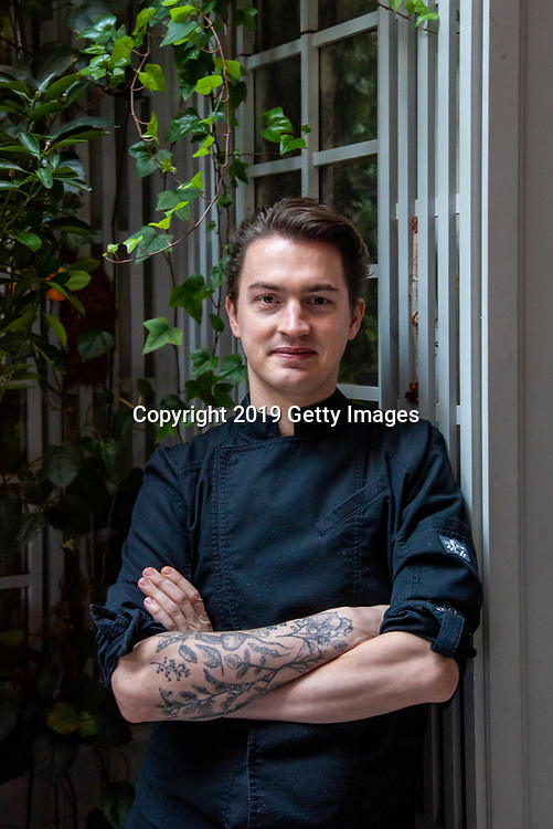 Chef Emmanuel Niess pose for a portrait at Majorelle in the Lowell Hotel in New York City on November 1st, 2019. (Photo by Kris Connor/Getty Images for OK! Magazine)