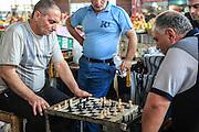 chess players at the Market, Yerevan, Armenia