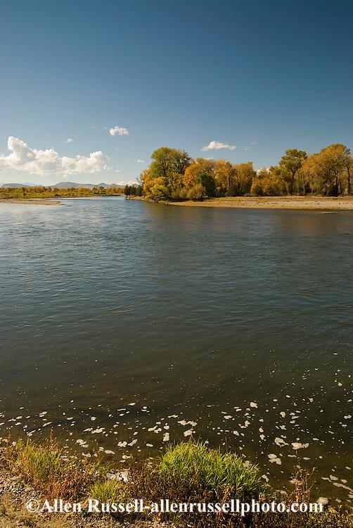 Missouri River, Missouri Headwaters State Park northeast of Three Forks Montana