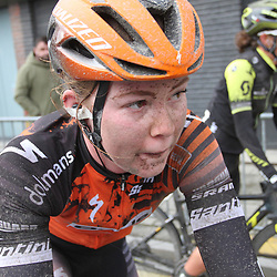 29-02-2020: Wielrennen: Omloop Nieuwsblad: Ninove: Lonneke Uneken
