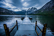 Stormy Eve at Sliver Lake Dock 2