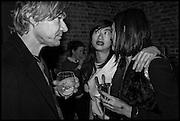HARLAND MILLER;  MIMI XU; HIKARI YOKAHAMA;, Julia Peyton-Jones, Hans Ulrich Obrist and Coach host the Serpentine Future Contemporaries Party. Serpentine Sackler Gallery. Kensington Gdns. London. 21 February 2015