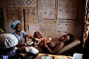A new life in Phebe Hospital, Gbangra county, Liberia, 23 July, 2010