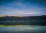 Sunrise at Redfish Lake, Idaho