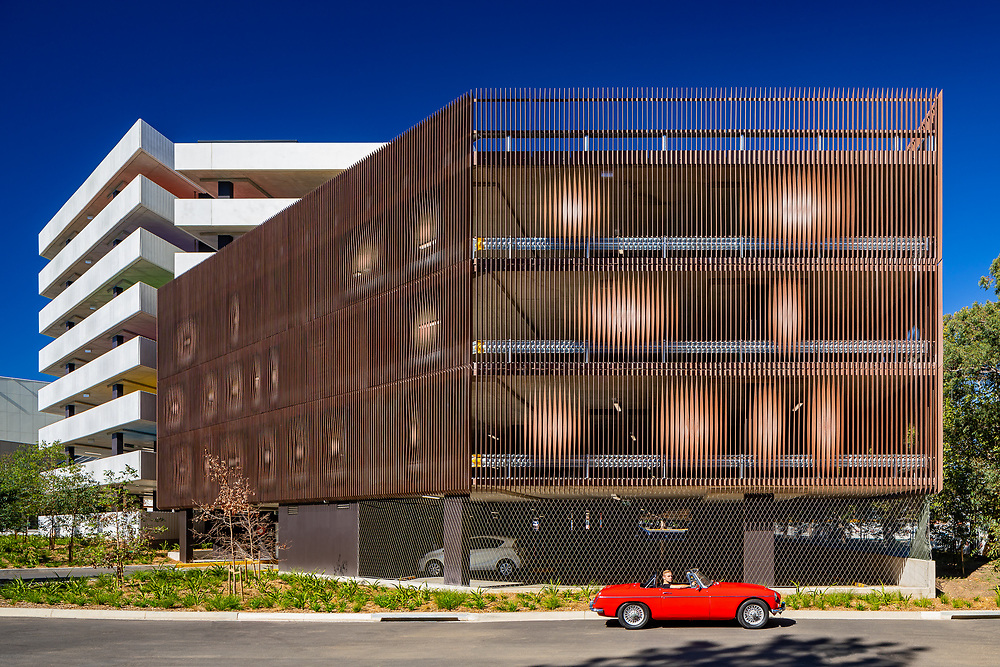 parramatta leagues club car park by HASSELL studio parramatta leagues club car park.  designed by HASSELL studio and built by ADCO