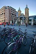 Londyn, 2009-10-23, Stacja metra i kolei Londyn Liverpool Street - jedna z głównych stacji kolejowych Londynu