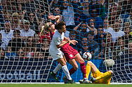 GOAL: Sarah Gregorius (New Zealand) scores a goal to give New Zealand the lead during the FIFA Women's World Cup UEFA warm up match between England Women and New Zealand Women at the American Express Community Stadium, Brighton and Hove, England on 1 June 2019.