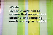 Marks and Spencer environmental waste policy 2012